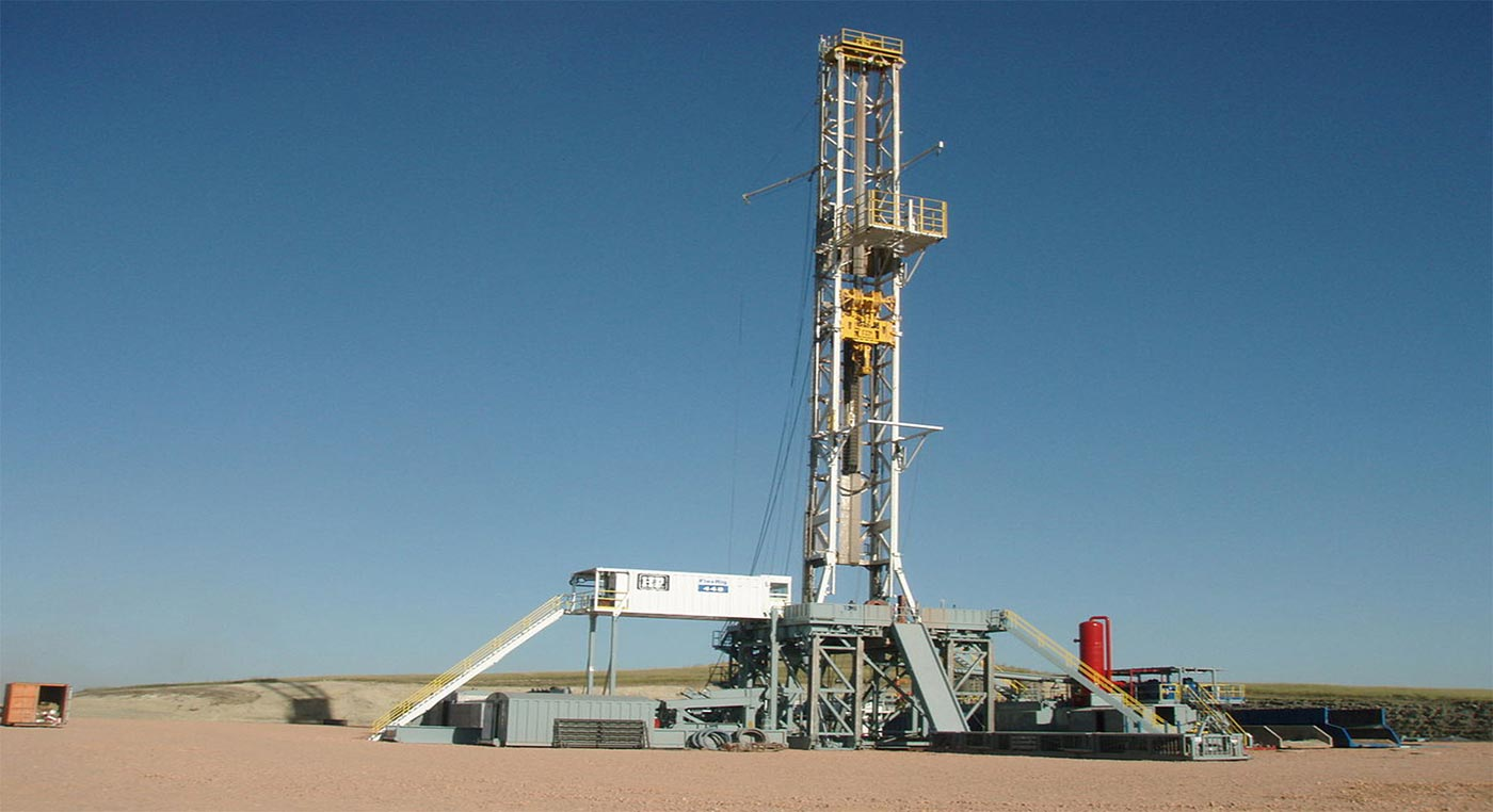 derrick drilling water filter solution